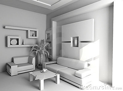 Office  blank interior