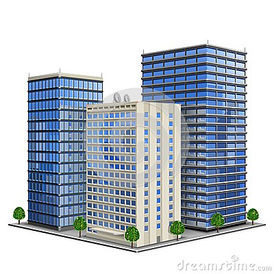 Free Office Building Royalty Free Stock Images - 24773299