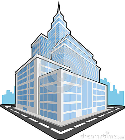 Free Office Building Royalty Free Stock Images - 27907649