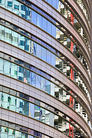 Office Building Abstract Curve