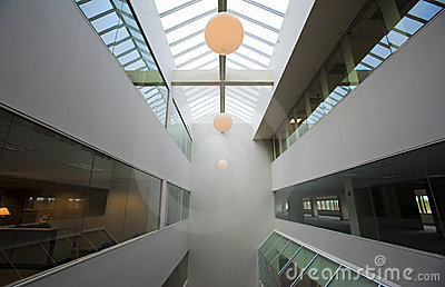 Office building atrium