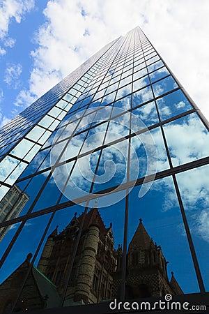 Office building in Boston, Massachusetts