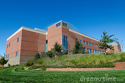 Office building on campus