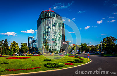 Office Building Editorial Stock Photo