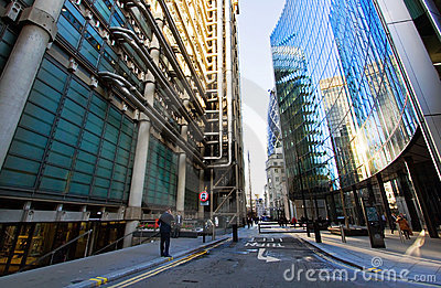 Office buildings Editorial Stock Image