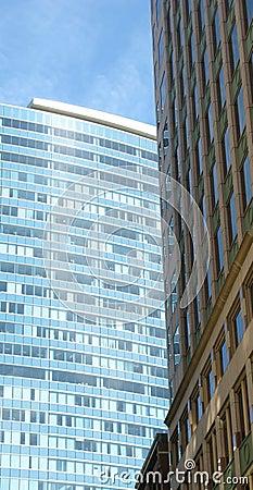Office buildings in Boston