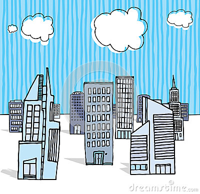 Office buildings / Business district