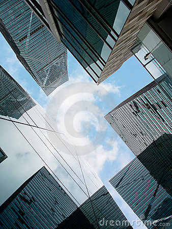 Free Office Buildings, Looking-up Stock Photos - 20435183