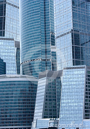 Office buildings - modern architecture