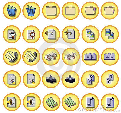 Office buttons