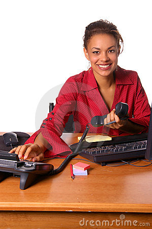 Free Office Call Royalty Free Stock Photos - 225818