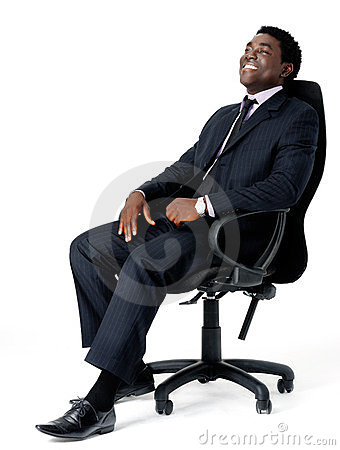 Free Office Chair Businessman Stock Photography - 23713762