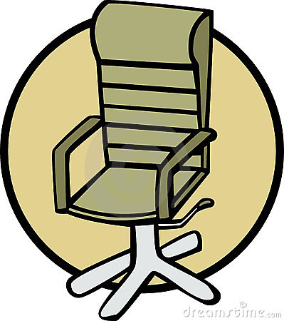 office chair vector illustration