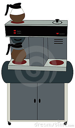 Vector Portable Coffee Maker : Office Coffee Machine Royalty Free Stock Images - Image: 3685659