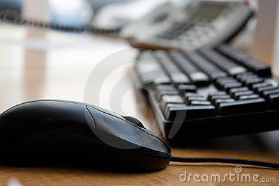 Office Computer Keyboard Mouse