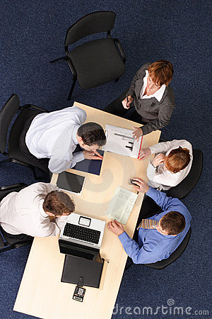 Free Office Conference Royalty Free Stock Image - 2924336