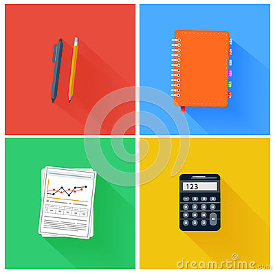 Office Elements Stock Vector Image 42646254