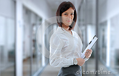 Office employee Stock Photo
