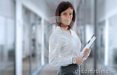 Office employee Stock Photo