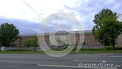 Office fédéral allemand des migrations et des réfugiés de Nuremberg banque de vidéos