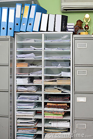 Office Files Royalty Free Stock Photography - Image: 16798687