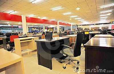Office furniture shop
