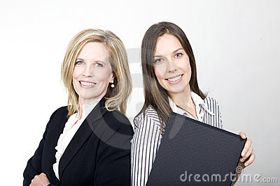 The Office Girl and the Lady Boss