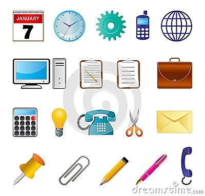 Free Office Icon Stock Photos - 18881093