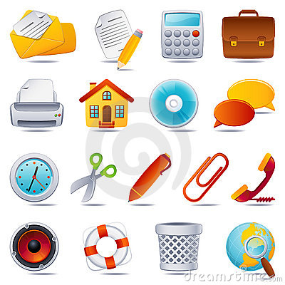 Free Office Icon Royalty Free Stock Photo - 7997125