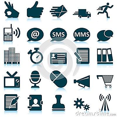 Free Office  Icon Set Stock Image - 26787161