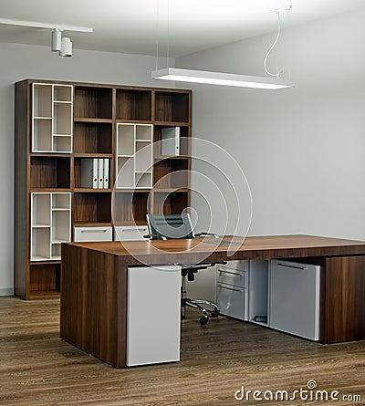 Office interior design. Elegant and luxury.