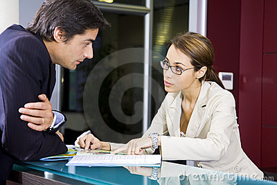 Office Life Stock Images - Image: 2807834