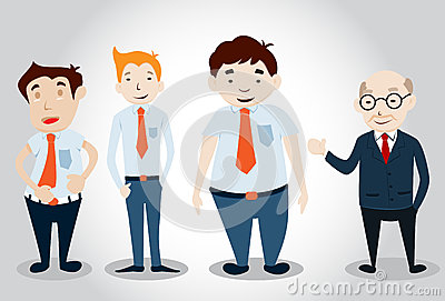 Office Man Characters