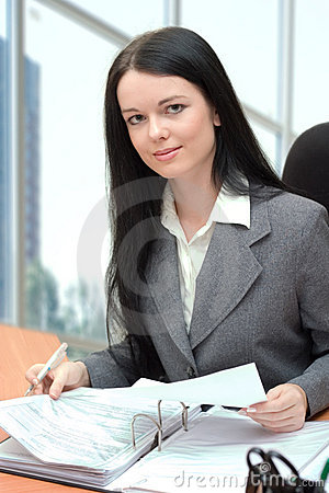 Free Office Manager Royalty Free Stock Photography - 1909707