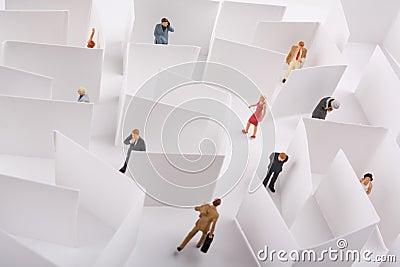 Office Maze Concept