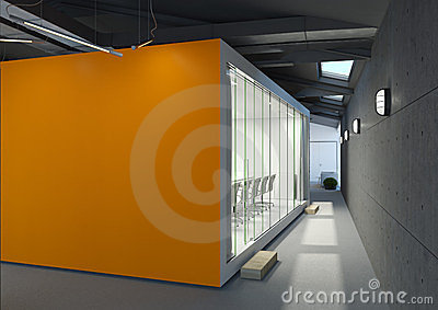 Office with meeting room
