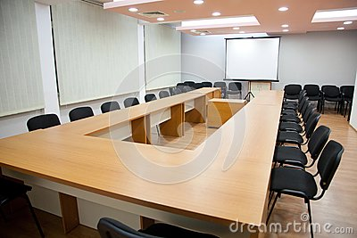 Empty Meeting Room Public Domain