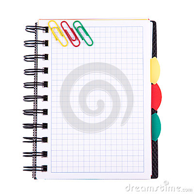 Free Office Notebook. Back To School Concept. Post It Note. Royalty Free Stock Image - 30101276