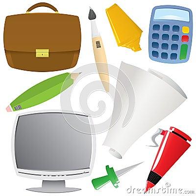 Office object set