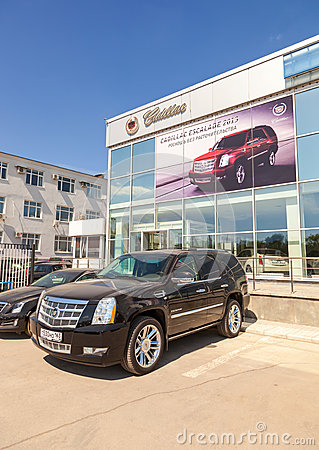 Office Of Official Dealer Cadillac Editorial Photo Image
