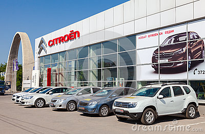 Office Of Official Dealer Citroen In Samara Russia