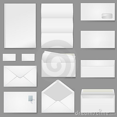 Office paper of different types