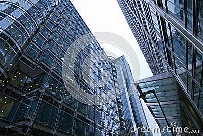 Office park buildings