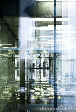 Office passage reflections