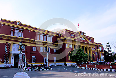 Office of the President of Nepal Editorial Stock Image