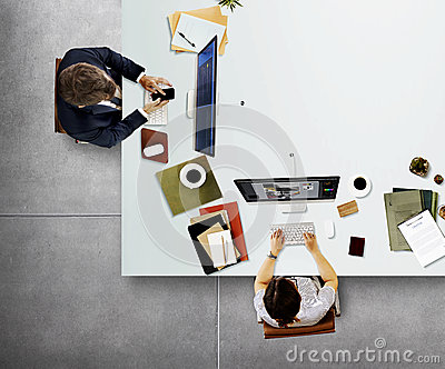 Office Professional Occupation Business Corporate Concept Stock Photo