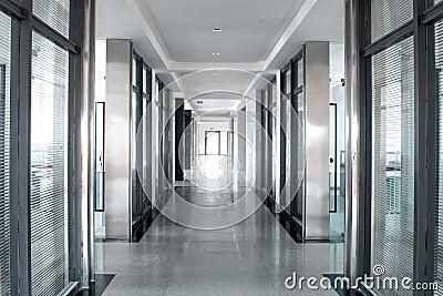 Office room corridor
