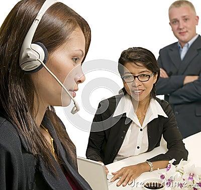 Office service team
