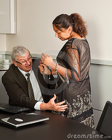 Office sexual harassment