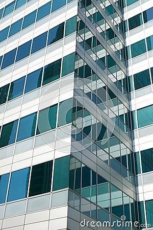 Office Skyscraper In London s Docklands